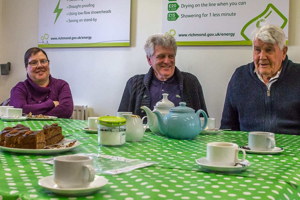 Tea and Chat at Ham library